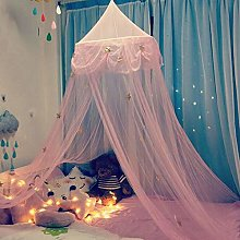 BAIHAO Hanging Bed Canopy Princess Style Kids Baby