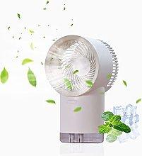 BaiHogi small desk fan, Mini Air Cooler Fan