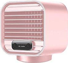 BaiHogi small desk fan, Portable Air Cooler Fan