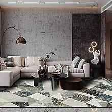 BAITUB Modern Abstract Area Carpet Retro Lattice