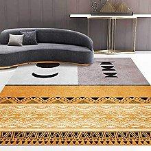 BAITUB Modern Abstract Area Rug Living Room Rug