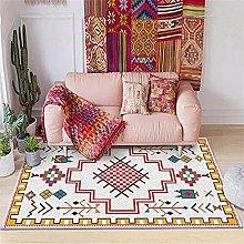 BAITUB Modern Abstract Bedroom Rug Home Designer