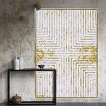 BAITUB Modern Abstract Retro Soft Carpet,