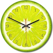 Baiyao Acrylic European Creative Fruit Wall Clock