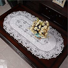 BAJIE Table Runner Crochet Lace Tablecloth for