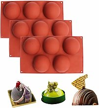 BAKER DEPOT Bakeware Set Dome Silicone Mold for