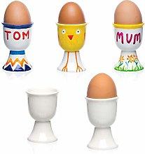 Baker Ross ET879 Porcelain Egg Cups (Box of 4),