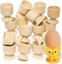 Baker Ross Wooden Egg Cups Craft Project — Ideal