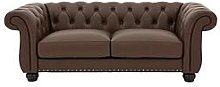 Bakerfield 3 Seater Leather Sofa