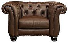 Bakerfield Leather Armchair