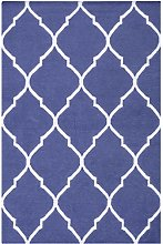 Bakero Caroline Dark Blue, Wool, 180 x 120 x 0.80