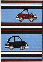 Bakero Kids Cars Blue, Polyamide, 230 x 160 x 0.6