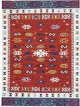 Bakero Kilim Classic 17016, wool, Multicoloured,