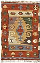 Bakero Kilim Classic K-06 Rug Wool Multi-Coloured