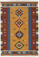 Bakero Kilim Classic K-12 Rug Wool Multi-Coloured