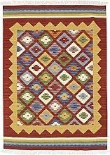 Bakero Kilim Classic K-14 Rug Wool Red 230 x 170 x