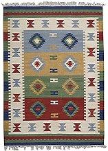 Bakero Kilim Classic KL-75 Rug Wool Multi-Coloured