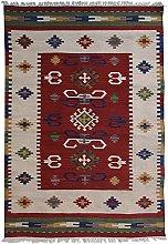 Bakero Kilim Classic KL-76 Rug Wool Multi-Coloured