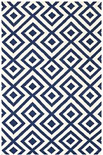Bakero Luisa Dark Blue, Wool, 200 x 140 x 0.80 cm