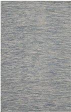 Bakero Valley light blue, wool, 180 x 120 x 0,8 cm