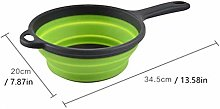 Baking Tools Mould 1Pc Folding Silicone Colander