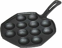Baking Tools Moulds Cast Iron Ball Maker Pan