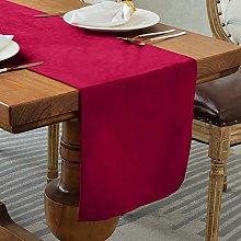 Balcony&Falcon Linen Look Table Runner Modern
