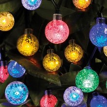 Ball Solar String Lights by Coopers of Stortford