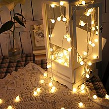 Ball String Lights,TriLance Color Starry Christmas