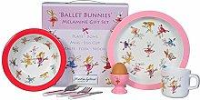 Ballet Bunnies 7 Piece Melamine Gifr Se