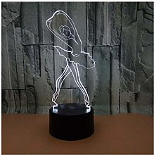 Ballet Dancer 3d Light Night New Fantasy Art Night