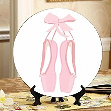 Ballet Pointe Shoes Cheap Ceramic Plates China