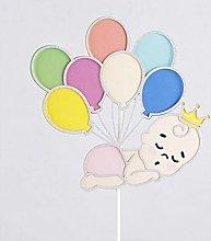 Balloon String Baby Cake Decoration Candy Bar Baby