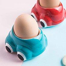 Balloon Whisk Egg Cup Cute Ceramic Soft Boiled Egg