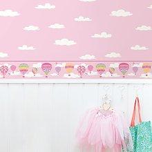 Balloons Wallpaper Border Isabelle & Max Colour: