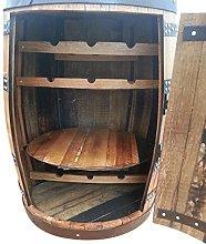 Balmoral Handmade Solid Oak Wood Drinks Cabinet