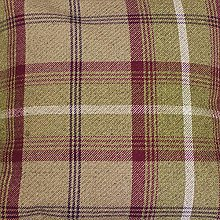 Balmoral Heather Wool Effect Thick Tartan Plaid