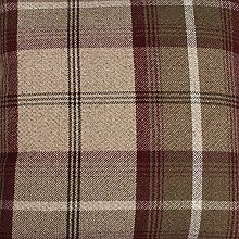 Balmoral Mulberry Wool Effect Thick Tartan Plaid