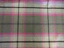 Balmoral Porter & Stone Upholstery Fabric - Fuchsia