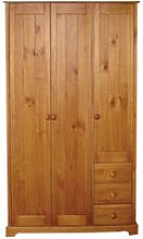 Balsam Pine 3 Door Wardrobe
