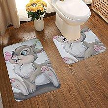 Bambi Soft Flannel Floor Mats Carpets Non-slip