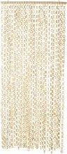 Bamboo and Acacia Door Curtain 90x215