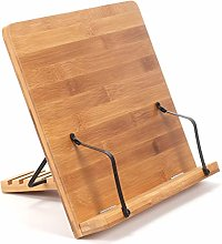Bamboo Book Stand 340 * 240mm Book Stand