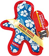 Bamboo Combat Dog Chew Toy (Large) (Blue/Red) -