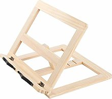 Bamboo Cookbook Stand Holder, Multi-Function