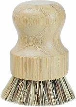 Bamboo dishwashing brush, kitchen wooden cleaning