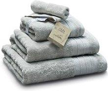 Bamboo Face Towel - Light Grey