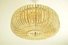 bamboo lampshade, handmade wooden pendant ceiling
