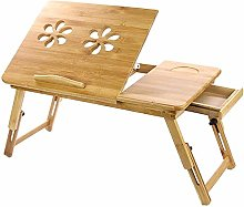 Bamboo Laptop Desk Laptop Notebook Table PC