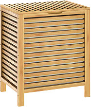 Bamboo Laundry Basket Laundry Collector Bathroom
